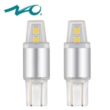 NAO 2x W5W LED Lamp T10 led Bulb Car Light 12V DRL 3030 Chips SMD 194 168 COB Clearance Light 6000K White Yellow 3000K Red New(China)