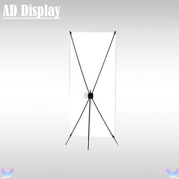 20PCS 60*160cm Economical Portable Exhibition X Frame,Advertising X Banner Display Promotional Stand,Trade Show Equipment(China (Mainland))