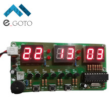 C51 Digital Electronic Clock Suite DIY Kit Six 6 Bits Electronic Parts and Components Eletronicos Electronic DIY Kit(China)