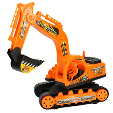 The new Queen Inertial truck excavator digging toy machine excavator inertia wholesale dredging car