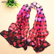 2017 Novelty Dots Print Winter Scarf Long Desigual Scarves Discounts Canada Shawls Womens Jewelry Scarfs Gift For Friends WJ002