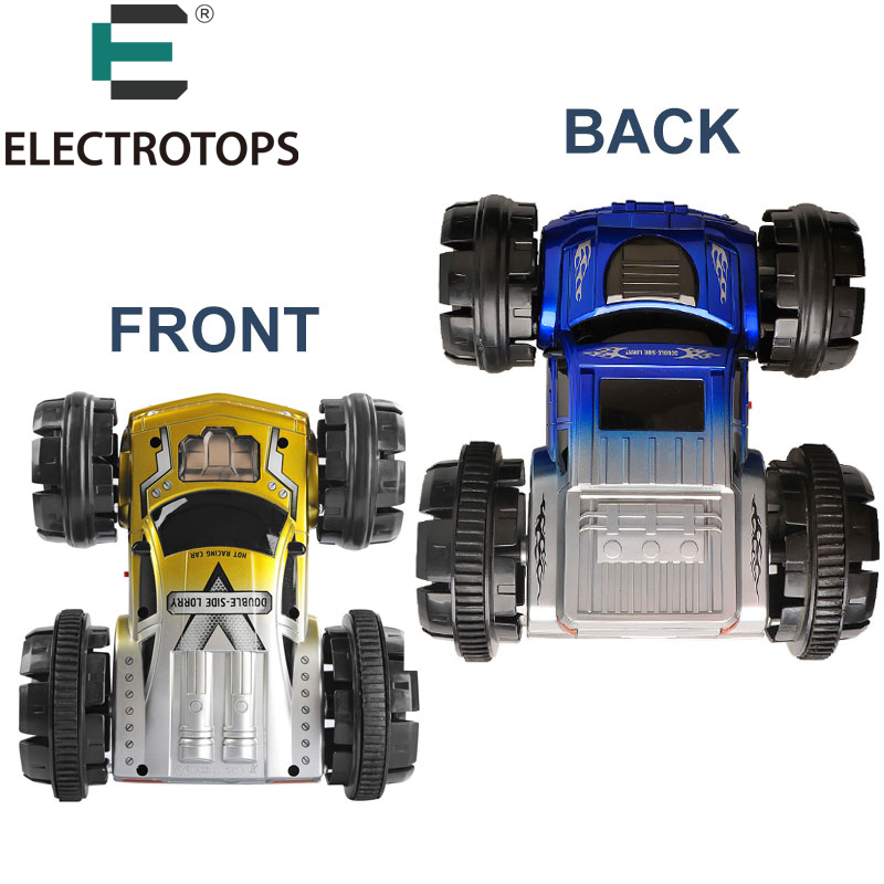 et 6ch rc car vehicles double sided remote control car 360 degree spinning and flips stunt car usb best gift for kids