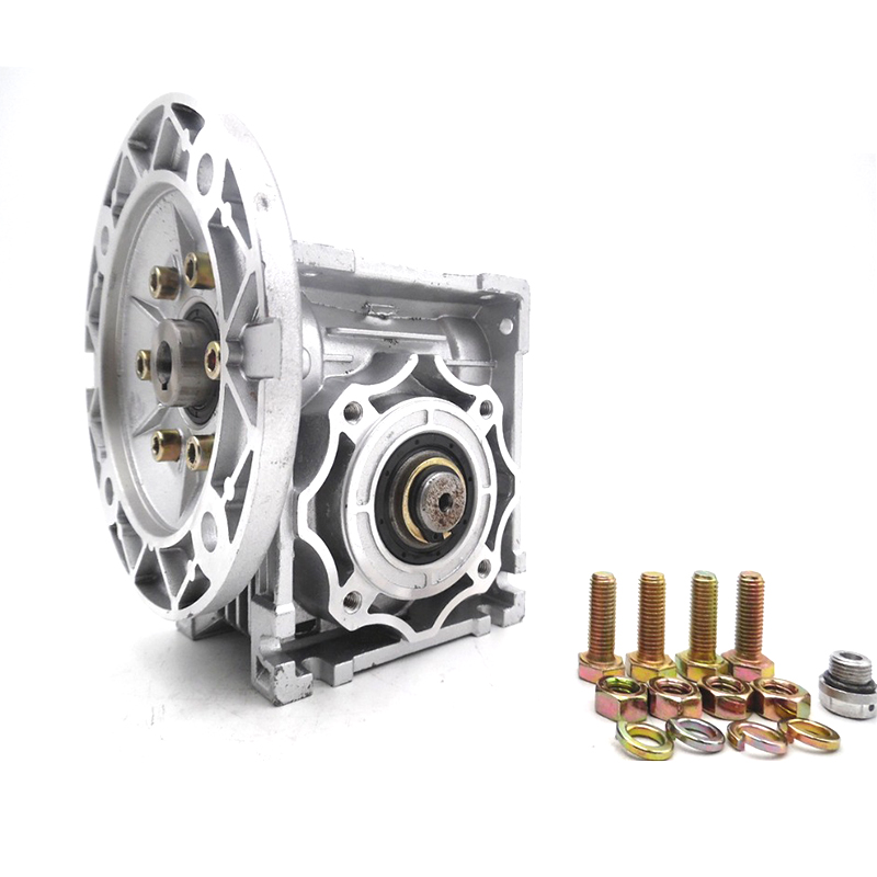 Ratio 40:1 NMRV040 Turbo-Worm Gear Reducer 63B5 for 3 Phase Asynchronous Motor 380v or Single/2 Phase 220v 4 Pole 2400r/min 120w<br>