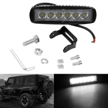 Car Truck 18W 6 SMD LED Work Light Bar Reversing Flood Worklight Lamp for Jeep Boat 4WD 12V 24V Hot Selling