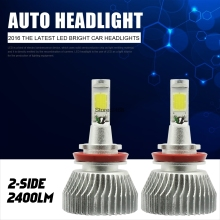 H16 5202 9005 9006 H1 H3 880 H11 H4 H7  LED Car Headlight Fog light Lamp Bulb Beam