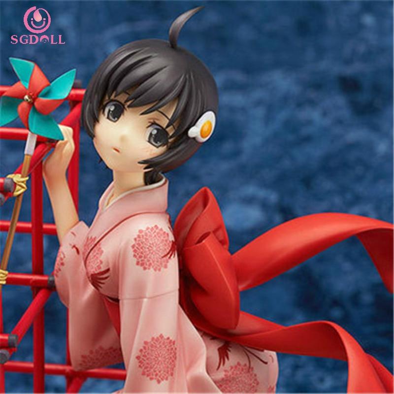 [SGDOLL] 2017 New Anime Araragi Tsukihi Nisemonogatari Bakemonogatari 1/8 PVC Figure NO Box New Arrival Free Shipping  5403-L<br><br>Aliexpress