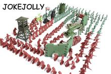 238pcs/set 1:72 lifelike mini military equipment plastic soldier model toys for boy best brinquedos gift for kids WYQ
