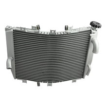 Aluminum Motorcycle Cooler Radiator For Kawasaki 2004 2005 NINJA ZX10R ZX-10R 04 05 Motorcycle Parts And Accessories(China)