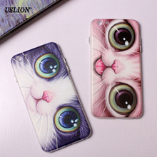 Buy USLION Phone Case iPhone 7 6 6s Plus Fashion Cute Cartoon Cat Cases Ultrathin Soft TPU Back Cover Coque iPhone7 Plus for $1.50 in AliExpress store