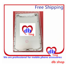 For Apple iPad mini 2 mini2 A1491 A1492 4G 3G Version Battery Door Back Rear Housing Cover Case Replacement with logo