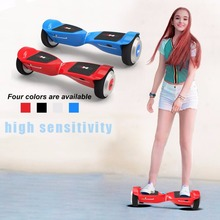 X3 Hoverbaord 6.5 inch Scooter with Two Wheels & LED Light & Dual Bluetooth Speaker Great Gift for Kids