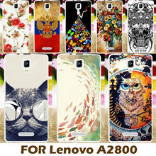 AKABEILA Phone Case Cover For Lenovo A1000 A 1000 A2800 Cases Covers  A2800-D A2800D Shell Fashional Covers