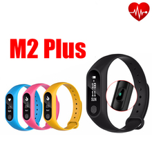 m2 plus SMS Call Sport band Smart WristBand Fitness Tracker Bracelet Heart Rate Blood Pressure Watch Pulse Meter Oxygen(China)