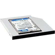 SATA Optical Bay 2nd Hard Drive Caddy, Universal for 9.5mm CD / DVD Drive Slot (for SSD and HDD)