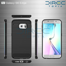 2017 Special Offer New For Samsung Galaxy S6 For Edge Hybrid Super Armor Soft Tpu Silicone Back Cover For Mobile Phone