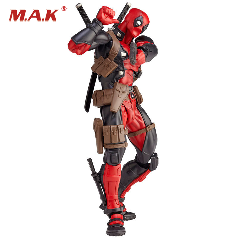 16cm Red Deadpool Action Figures Model Justice League X-MAN Action Figure Toys for Collections<br>