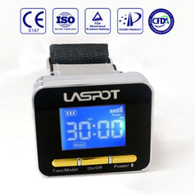 CE 01697 TUV lower blood pressure laser watch unit sell free shipping home use(China)