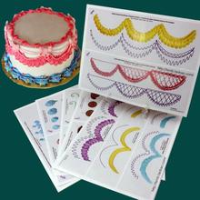 23pc/set Cake Practice Template Paper Set Piping Drawing DIY Paste Cake Training Decorating Fondant Decor Baking Cake Tool(China)