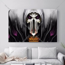 World Of Warcraft Figures Canvas Art Print Painting Poster Wall Pictures For Living Room Home Decoration Wall Decor No Frame