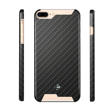 Phone Case For iPhone 7 Plus 100% Real Carbon Fiber 5.5 inch Cover Cell Phone Back Shell NEWOER(China)