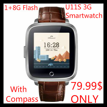 Cheap 3G smartwatch 3G calling 1+8G flash heart rate monitor compass wifi 3G smart watch for ios android pk kw88 smart watch 3g<br><br>Aliexpress