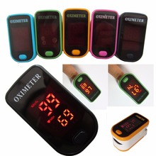 CE ISO Approved LED Fingertip Pulse Oximeter Blood Oxygen SpO2 saturation oximetro monitor oxymetre pulso metros