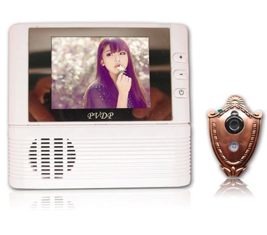 2.8 Inch TFT Monitor Take Photo Video Door Phone Peephole Viewer<br>
