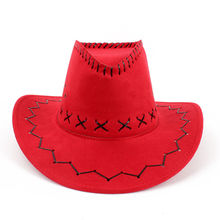 2017 Fashion Chapeu Straw Cowboy Autumn Summer Spring Sun Hat Cowboy Hat Men And Women Caps(China)