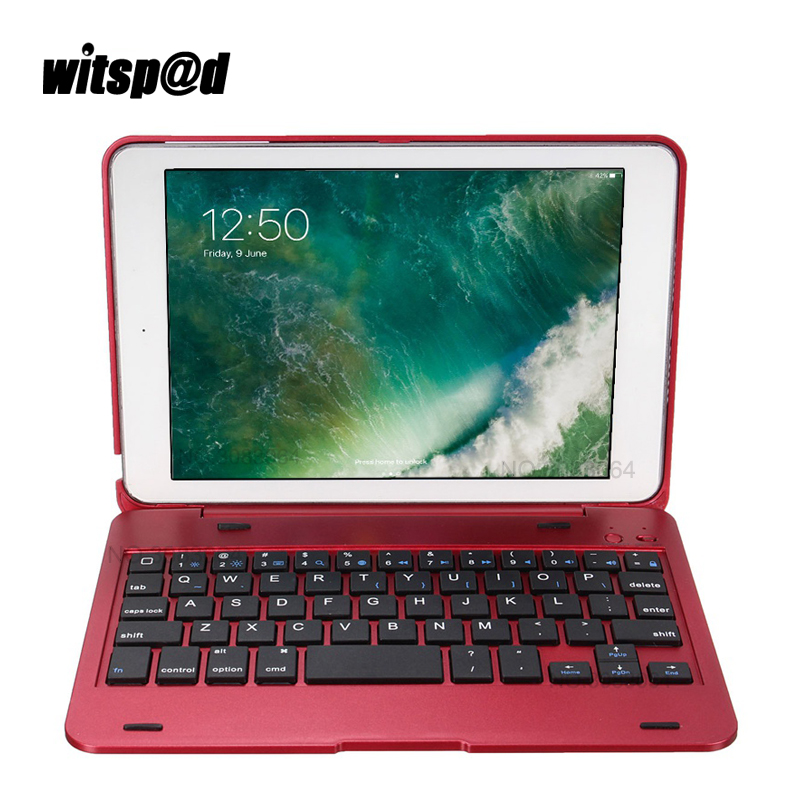 Portable Wireless Bluetooth Keyboard For iPad Mini 3 Tablet Protective Keyboard Case With Stand Smart Cover for Mini 2 1<br>