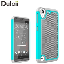 DULCII for HTC Desire 530 Case Football Grain PC + Silicone Combo Phone Cover Casing for Case HTC Desire 530 630 Shells Bag