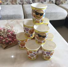 10pcs/lot 7inch  Party Lovely smiling face Emoji Cartoon cup Theme  Baby Shower Party Kid  Birthday Party Supplier