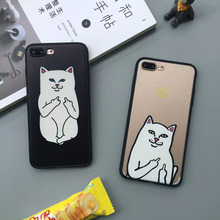 Case cover for apple iphone 5s 6s 6 s 5 s5 5se se 6 plus 6s plus 7 plus fashion funny ripndip pocket cat hard phone cases fundas(China)