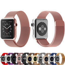 Buy Milanese loop apple watch band strap 42mm 38mm iwatch series 3/2/1 band Stainless Steel metal Bracelet wrist belt watchband for $5.88 in AliExpress store