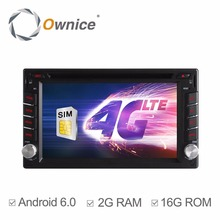 Universal Double 2 din 2din Android 6.0 Quad Core Car DVD player GPS Wifi Bluetooth Radio Stereo 2GB RAM 16GB Flash 4G Wifi