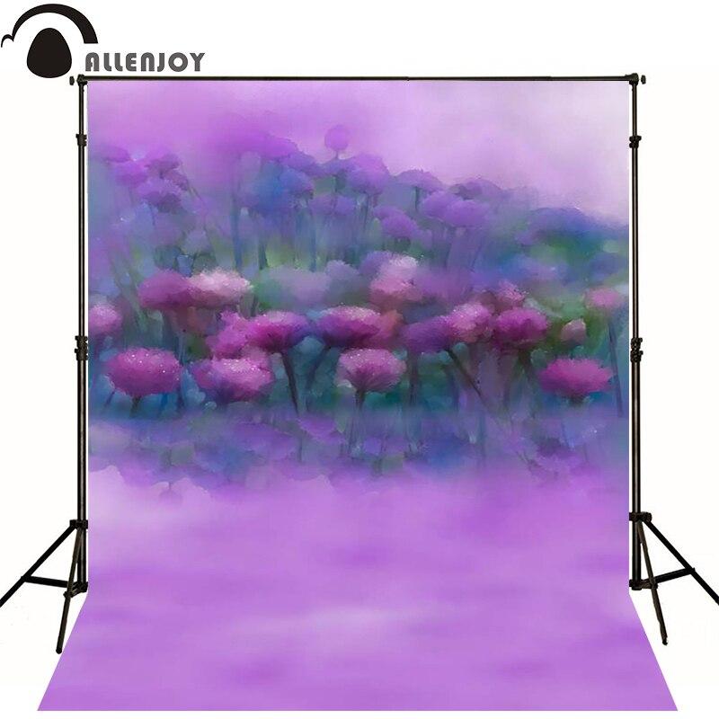Allenjoy Photographic background Painting blur purple haze newborn vinyl backdrops  baby shower  camera fotografica wall floor<br><br>Aliexpress
