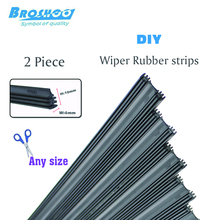 "Car wipers strips Auto Vehicle Insert Rubber strip windshield Wiper Blade (Refill) 6mm Soft 26"" 650mm 2pcs/lot car accessories"