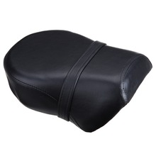 (Ship from US) Black Rear Pillion Passenger Seat For Harley Davidson Sportster XL 883XL 883C 883N 13