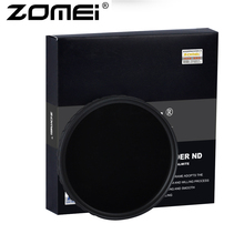 ZOMEI Ultra HD Fader ND2-400 Filter U HD-W German Glass Adjustable Variable Neutral Density Camera Lens 52-82mm(China)