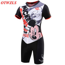 OTWZLS Cycling Skinsuit Summer Man Short Sleeve Set 2017 Breathable MTB Bike Wear Bicycle Clothes Jersey Cycling Kits Clothing