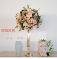 Wedding decoration shop cheap wedding decoration from china top quality diameter 40cm wedding flower ball decoration road lead flower wedding flower bouquet 10pcs junglespirit Gallery