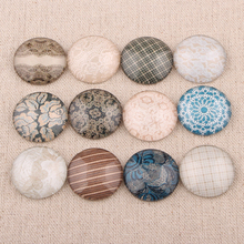 Onwear Mixed Handmade round dome glass cabochon 10mm 12mm 14mm 18mm 20mm 25mm diy flatback jewelry making accessories