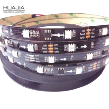 1M DC12V WS2811 5050SMD Digital RGB Dream Color Pixel LED Strip 30led/m WS2811 Led Strip Ws2811 IC Non-waterproof