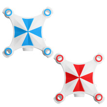 New Arrival Cheerson CX-OF CXOF RC Quadcopter Spare Parts Body Cover Shell Set blue Red For RC Quadcopter Spare Parts(China)