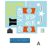Decal for Flight Line 1200mm F8F RC Airplane FLW206
