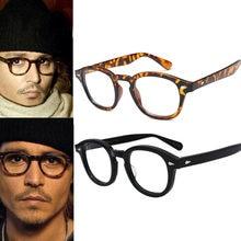 34ec31a800a24 Armações de óculos para os homens Quadros Homens Óculos de Marca Johnny  Depp Oculos de grau Frame Ótico óculos claros óculos sem.