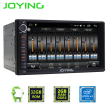 JOYING 7 inch touch screen 2din Android 6.0 car radio Head Unit multimedia player built in digital amplifier audio sound system(China)