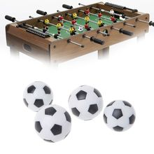 2pcs Resin Foosball Table Soccer Ball Indoor Games Fussball Football 32mm 36mm