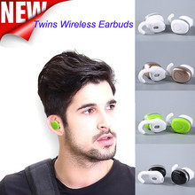Twins Wireless Bluetooth Stereo Headset In-Ear Earbuds For Android For iOS