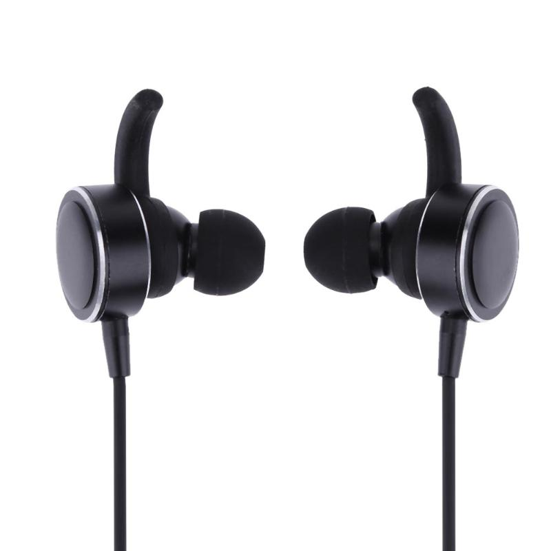 Wireless Bluetooth 4.1 Sport Headset Earphone In-ear Earbuds Built-in Mic Sweatproof Good Bass Earbud For IOS Android Phone