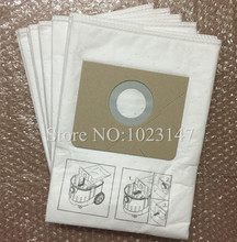 (5pieces/lot) Vacuum Cleaner Bags Dust Bag Filter Micro Fiber Bag For Karcher NT361 eco NT 25/1 NT 35/1 Eco M High quality